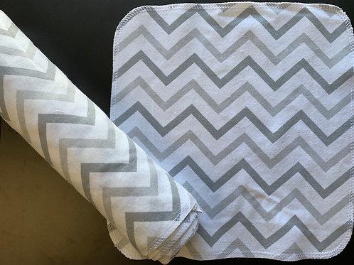 Reusable UnPaper Towels - Gray Chevron