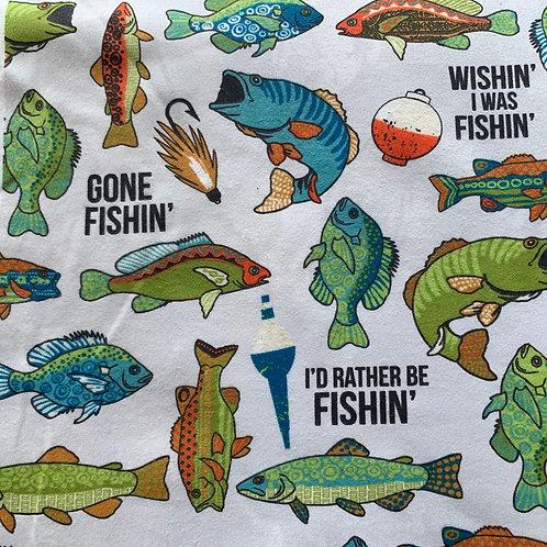 Reusable Unpaper Towels - Gone Fishin'