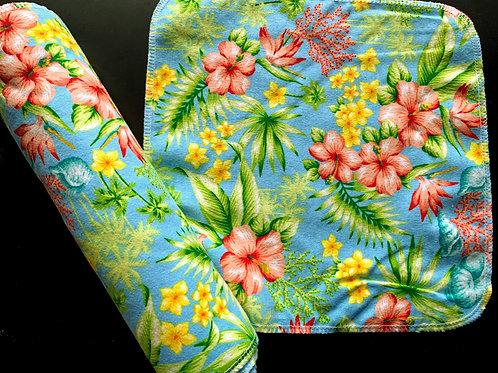Reusable Towels -Tropical Flowers