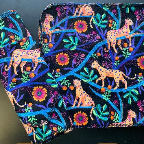 Reusable Unpaper Towels - Cheetahs
