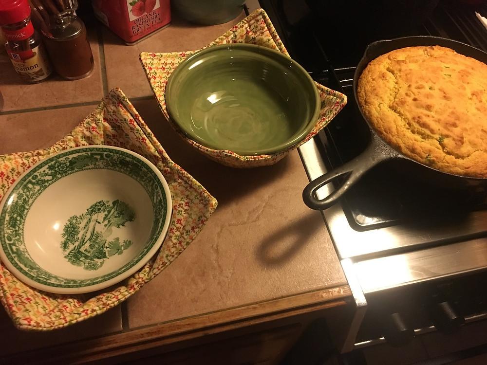 handmade soup cozy