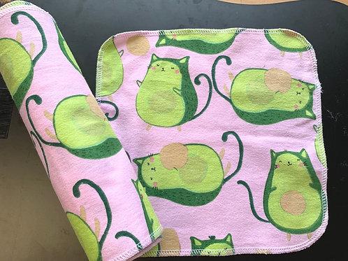 Reusable Unpaper Towels - Avo Pink