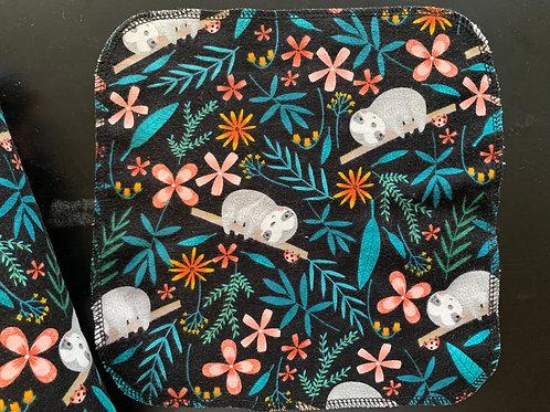 Reusable Unpaper Towels - Sloths