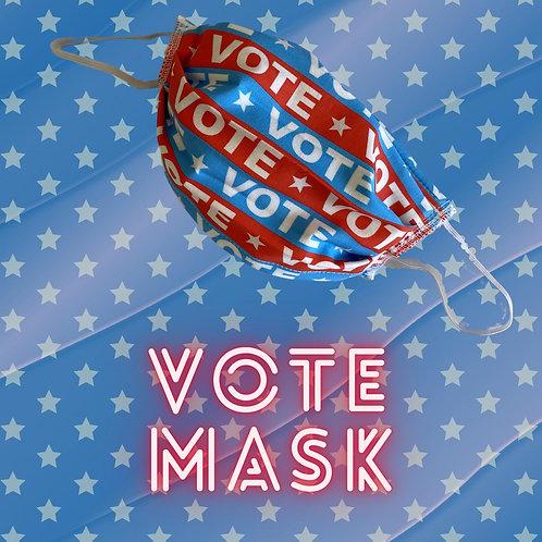 """Vote"" Face Mask"