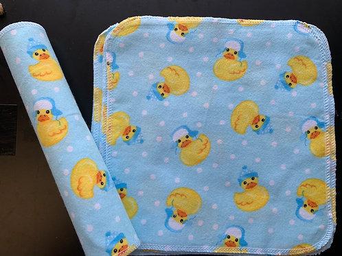 Reusable Unpaper Towels - Rubber Ducky