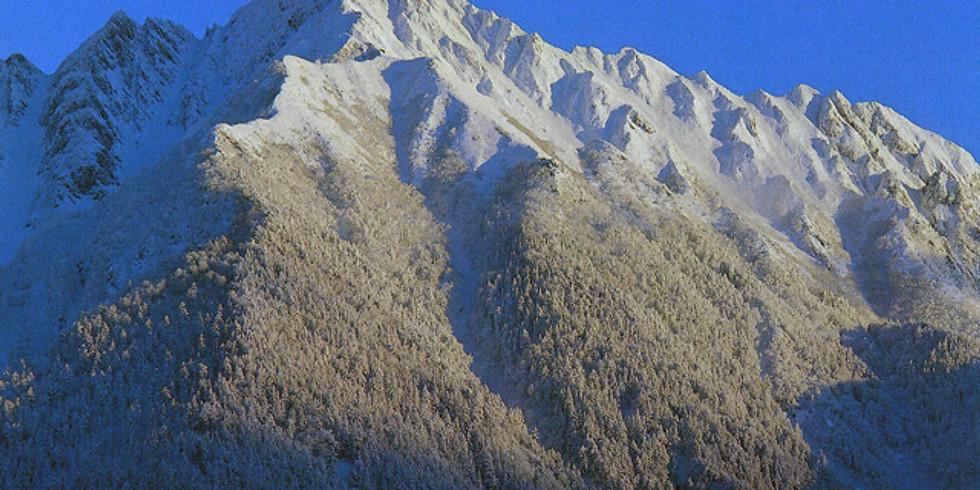 西穂高岳~奥穂高岳 縦走ルート(悪天候が予想される為、中止と致しました)