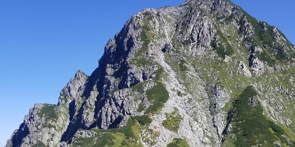 重厚なる岩壁 剣岳登山【催行決定 定員満了】