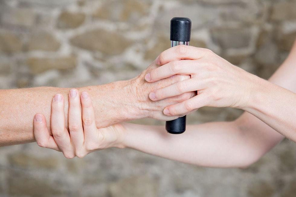 Physioterapeutische Behandlung