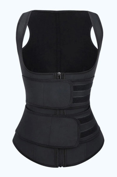Black Underbust Double Wrap Waist Trainer