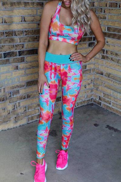 Tie Dye Jogging Set