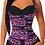 Thumbnail: Pink Leopard Vest Underbust Double Wrap Waist Trainer