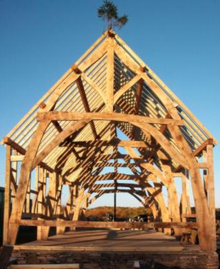 The baotshed oak frame
