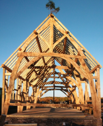 The baotshed oak frame