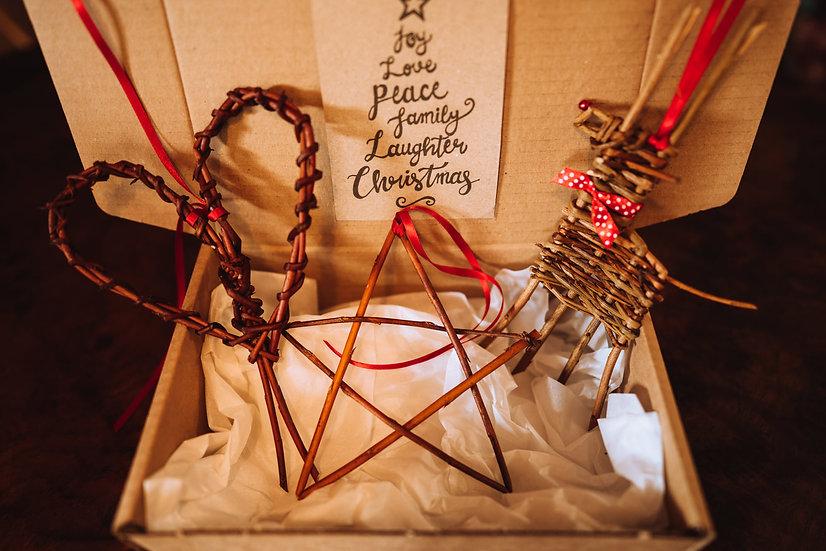 Willow Christmas Gift Box