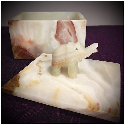 Onyx Elephant Box