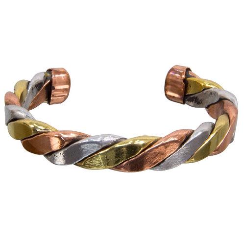Twisted Copper Tibetan Bracelets (Individual)