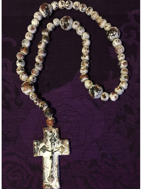 Large Wall Hanging Rosary Beads