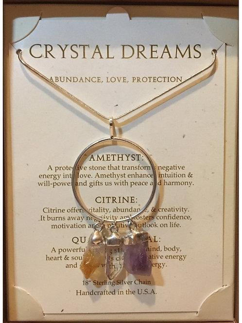 Crystal Dreams Quartz Necklace