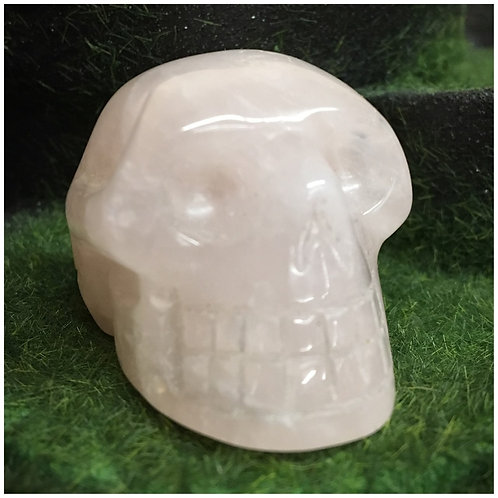 Rose Quartz Crystal Skulls (Small)