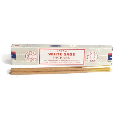White Sage Incense Sticks (15g)
