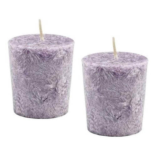 Lavender Palm Oil Votive Candles