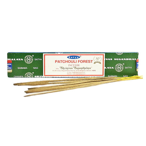 Patchouli Forest Incense Sticks (15g)
