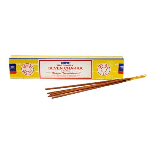 Seven Chakra Incense Sticks (15g)