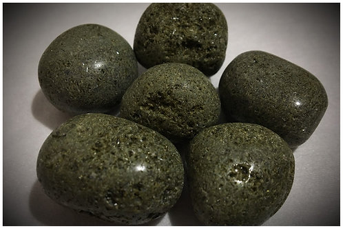 Epidote Tumbled Stones