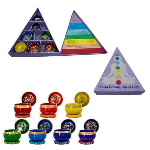 Chakra Singing Bowl Minis (Set)