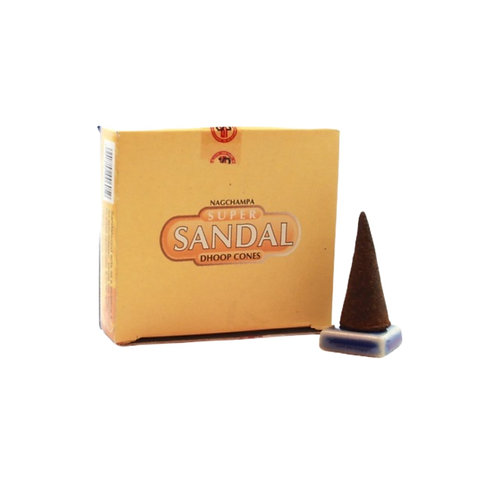 Sandal Incense Cones (12pk)