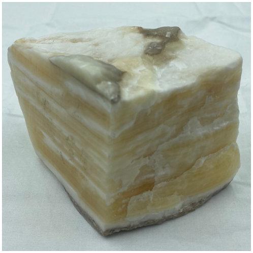 Orange Calcite Specimen 001