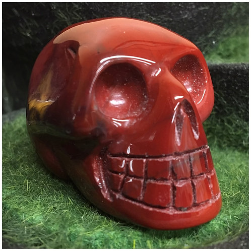 Mookaite Jasper Crystal Skulls (Small)