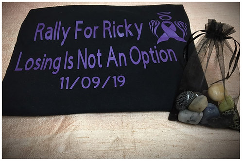 Rally for Ricky Fundraiser T-Shirts