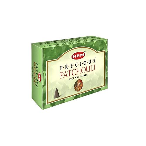 Patchouli Incense Cones (10pk)