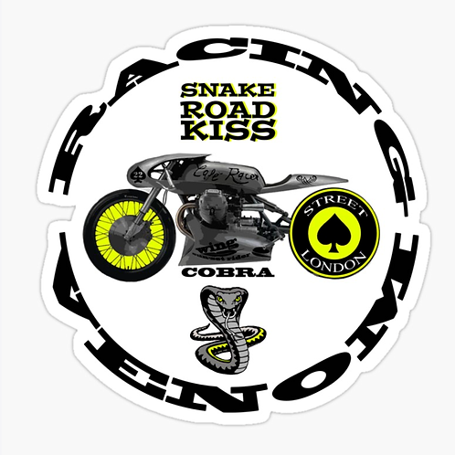 Cobra Venom Racing Sticker