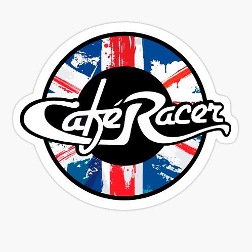 Cafe Racer Union Jack Sticker