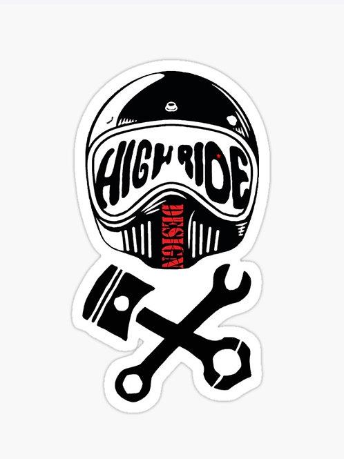 Highrider Sticker