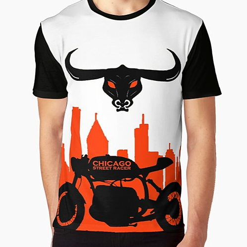 Chicago Street Racer Graphic T