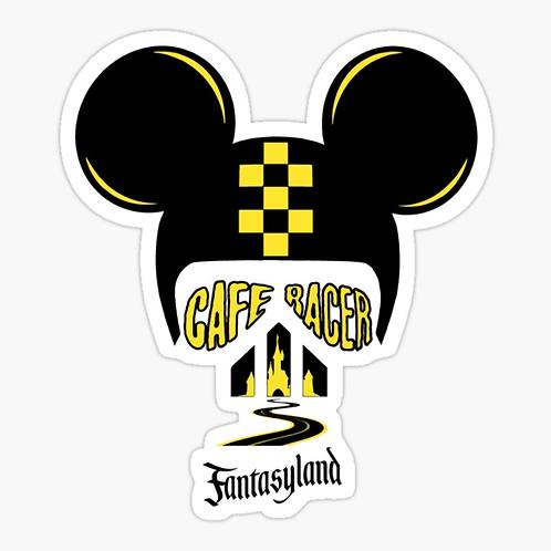 Rider Fantasyland Sticker