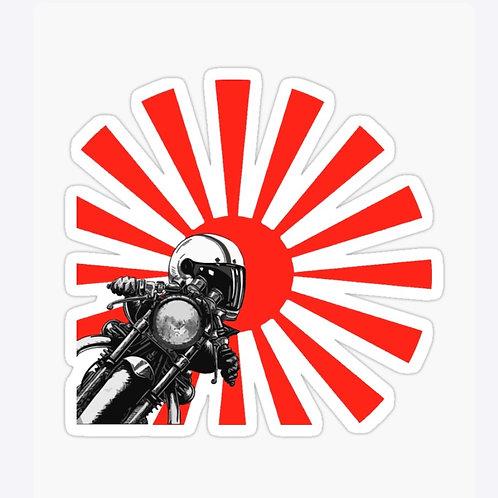 Suzuka Cafe' Racer Sticker