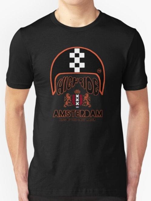 Cafe' Racer Amsterdam Unisex T-Shirt