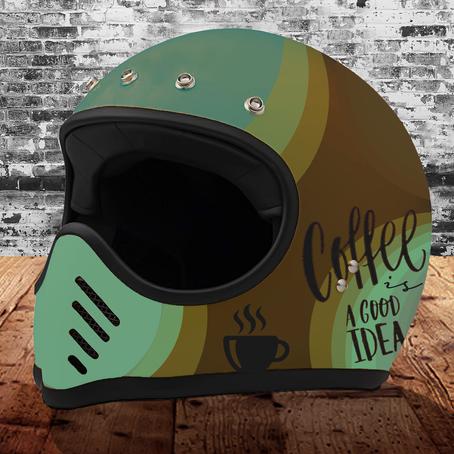 Cafe' Racer Design: Vintage Helmet