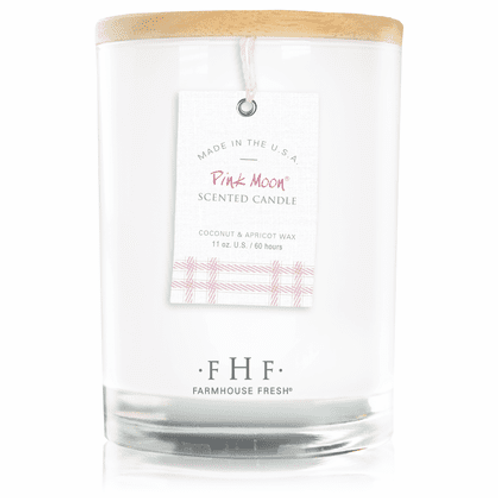 Pink Moon Candle