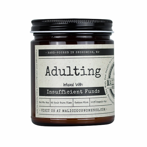 Adulting infused with Insufficient Funds