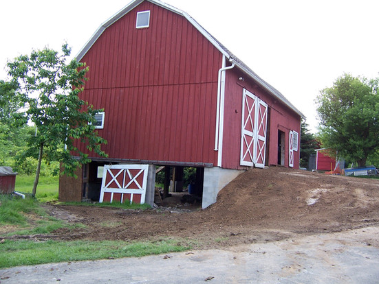 Barn Entrance - Brian K. Otto Home Remodeling