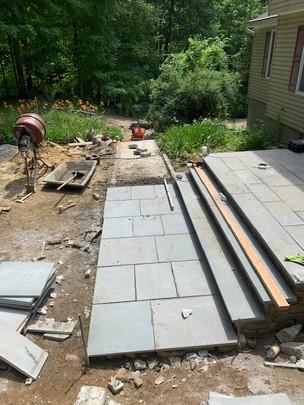 New Entry paveway - masonry