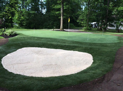Putting Green & Bunker