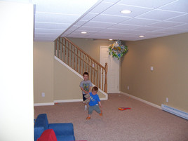 Basement Conversion Remodel - Brian K. Otto Home Remodeling