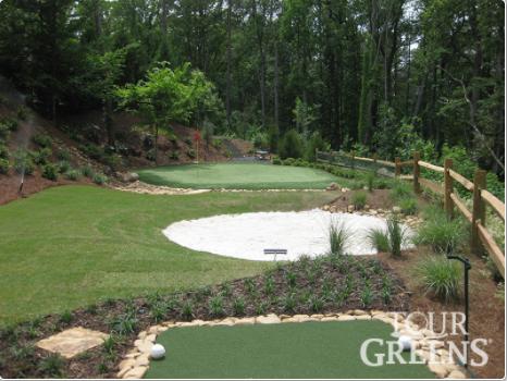 Golfing Green & Sand Bunker