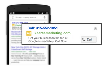 Google Ads - click to call mobile ads.pn